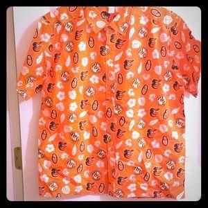 Tops - Hawaiin shirt Baltimore Orioles
